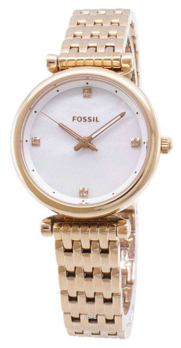 Fossil Carlie ES4429 Quartz Analog Women's Watch