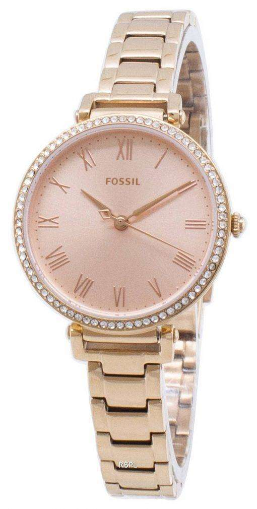 Fossil Kinsey ES4447 Diamond Accents Quartz Women's Watch