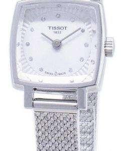 Tissot T-Lady Lovely Square T058.109.11.036.00 T0581091103600 Diamond Accents Quartz Women's Watch