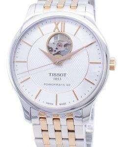 Tissot T-Classic Powermatic 80 T063.907.22.038.01 T0639072203801 Open Heart Men's Watch