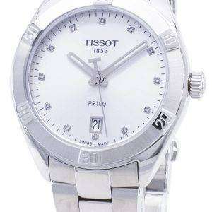 Tissot T-Classic PR 100 Sport T101.910.11.036.00 T1019101103600 Diamond Accents Quartz Women's Watch