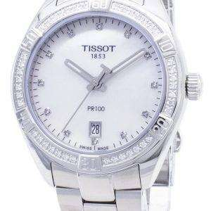Tissot T-Classic PR 100 Lady Sport T101.910.61.116.00 T1019106111600 Diamond Accents Quartz Women's Watch