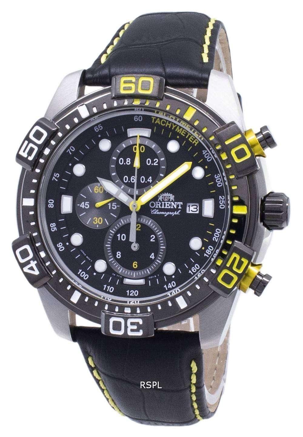 55125d104 Orient Sport FTT16005B Chronograph Quartz Men's Watch - CityWatches ...