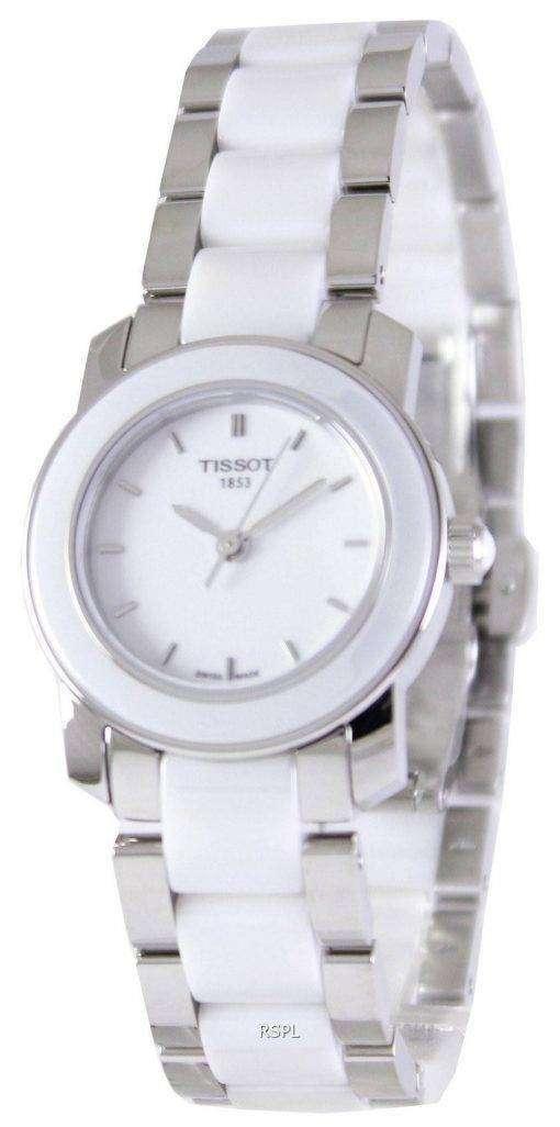 Tissot T-Lady Cera Quartz T064.210.22.011.00 T0642102201100 Women's Watch