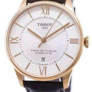 Tissot T-Classic Chemin Des Tourelles T099.407.36.038.00 T0994073603800 Powermatic 80 Men's Watch