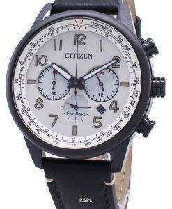 Citizen Eco-Drive CA4425-10X Tachymeter Analog Men's Watch