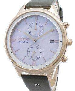 Citizen Chandler FB2008-01D Chronograph Women's Watch