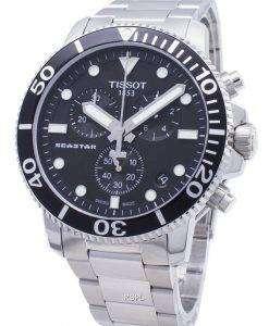 Tissot T-Sport Seastar 1000 T120.417.11.051.00 T1204171105100 Chronograph 300M Men's Watch
