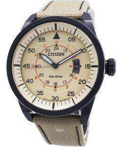 Citizen Eco-Drive Aviator Power Reserve AW1365-19P Mens Watch