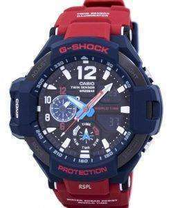 Casio G-Shock GRAVITYMASTER Shock Resistant World Time GA-1100-2A Men's Watch