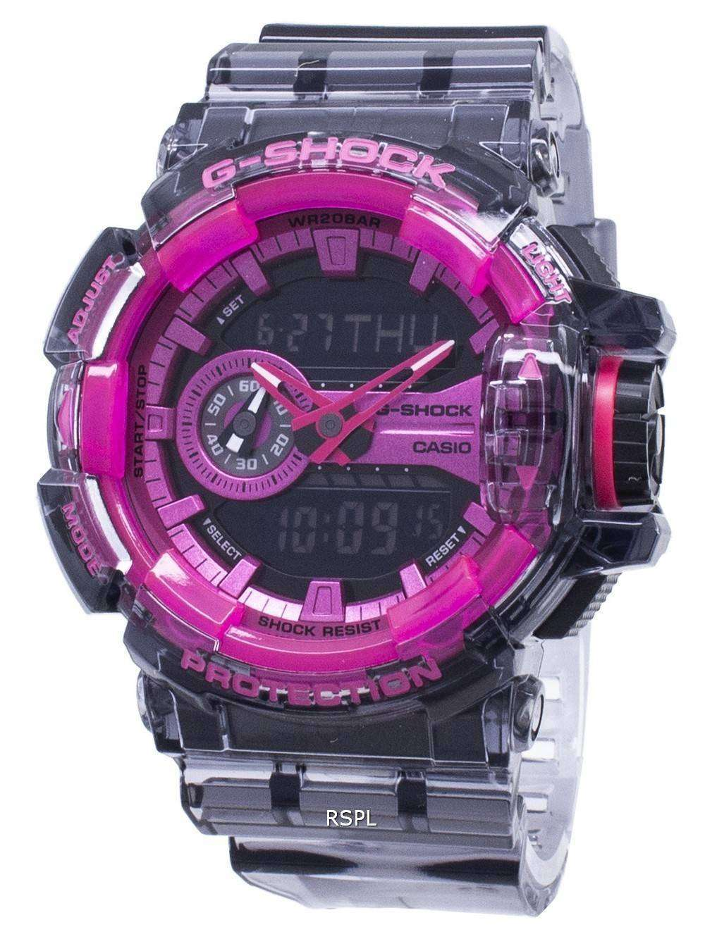 info for 09aa2 4ae72 Casio G-Shock GA-400SK-1A4 GA400SK-1A4 Shock Resistant 200M Men's Watch