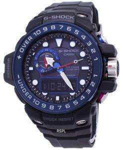 Casio GULFMASTER G-Shock Atomic Analog-Digital 200M GWN-1000B-1B Mens Watch