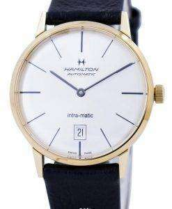 Hamilton Automatic Intra-Matic Silver Dial H38475751 Mens Watch