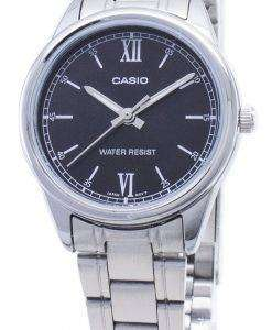 Casio Quartz LTP-V005D-1B2 LTPV005D-1B2 Analog Women's Watch
