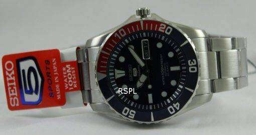 Seiko 5 Sports Divers Automatic SNZF15J1 SNZF15 Mens Watch