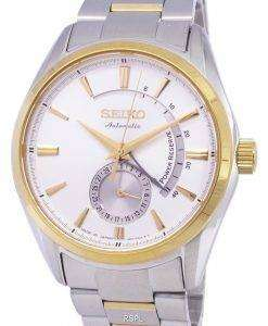 Seiko Presage Automatic Power Reserve Japan Made SSA306 SSA306J1 SSA306J Men's Watch