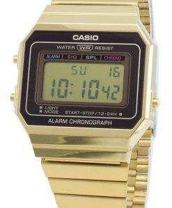 Casio Youth Vintage A700WG-9A Alarm Chronograph Quartz Men's Watch
