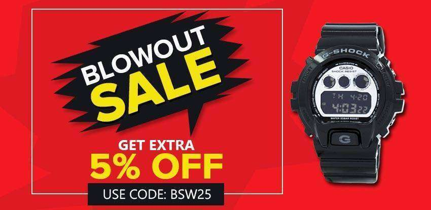 blowout sale