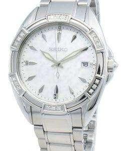 Seiko Classic SKK883P SKK883P1 SKK883 Diamond Accents Quartz Women's Watch