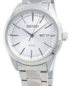 Seiko Discover More SNE523P SNE523P1 SNE523 Analog Solar Men's Watch