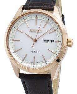 Seiko Conceptual SNE530P SNE530P1 SNE530 Analog Solar Men's Watch