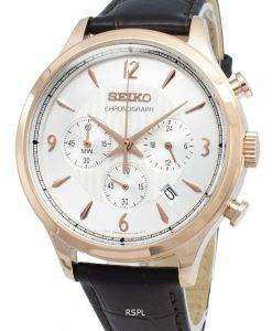 Seiko Chronograph SSB342P SSB342P1 SSB342 Analog Quartz Men's Watch