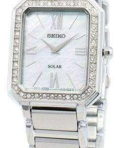 Seiko Conceptual SUP427P SUP427P1 SUP427 Diamond Accents Solar Women's Watch