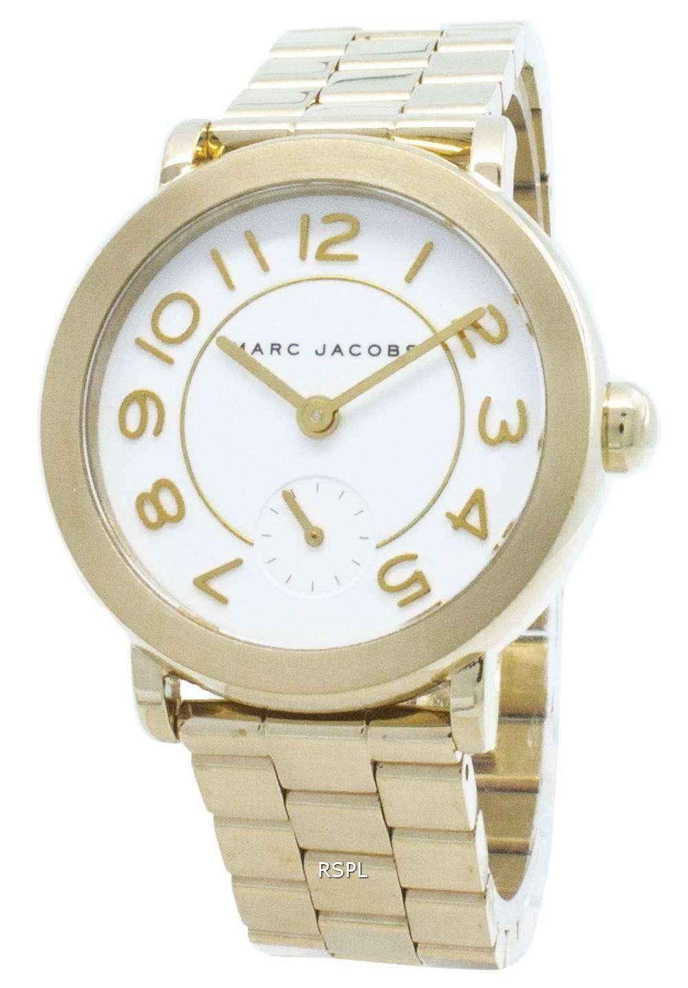 Refurbished Marc Jacobs Riley MJ3470 Quartz Analog Women's Watch
