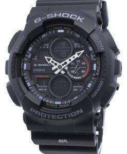 Casio G-Shock GA-140-1A1 GA140-1A1 Quartz World Time Men's Watch