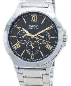 Casio Enticer MTP-V300D-1A2  MTPV300D-1A2 Chronograph Quartz Men's Watch