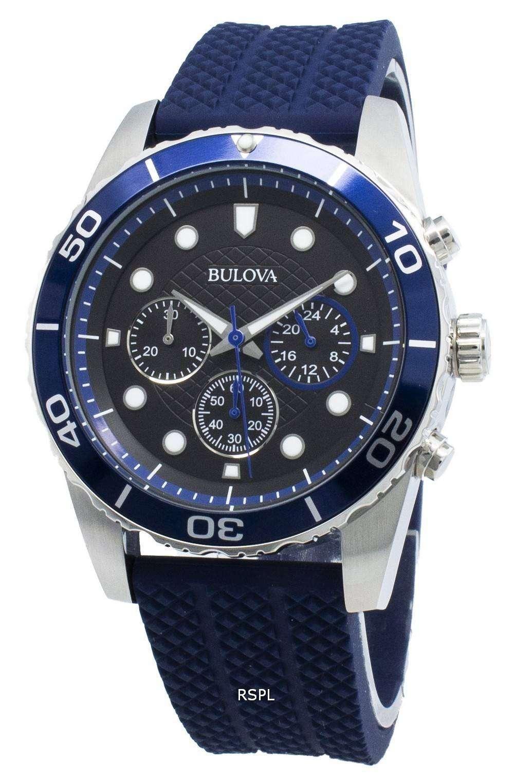 Bulova Sport 98A190 Chronograph Quartz Men's Watch