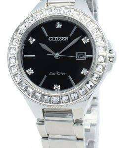 Citizen Silhouette FE1190-53E Diamond Accents Eco-Drive Women's Watch