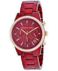 Michael Kors Ritz MK6665 Diamond Accents Quartz Women's Watch