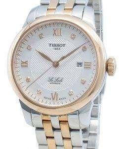 Tissot Le Locle T006.207.22.036.00 T0062072203600 Diamond Accents Automatic Women's Watch