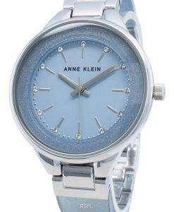 Anne Klein 1409LBSV Diamond Accents Quartz Women's Watch