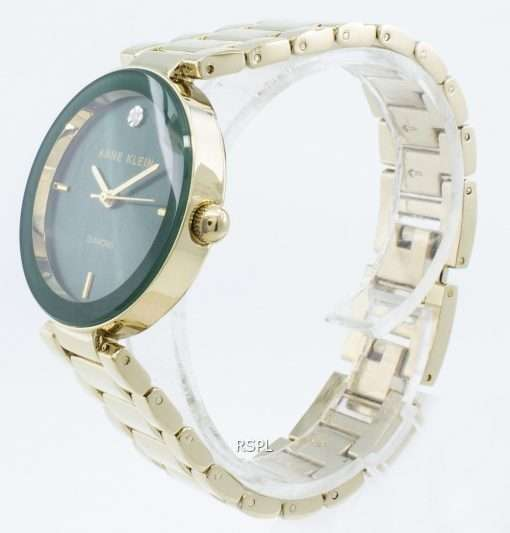 Anne Klein 1362GNGB Diamond Accents Quartz Women's Watch