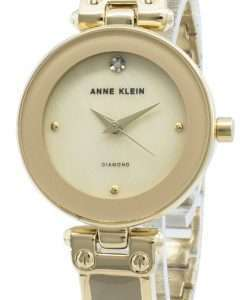 Anne Klein 1980TMGB Diamond Accents Quartz Women's Watch