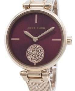 Anne Klein 3000BYRG Diamond Accents Quartz Women's Watch