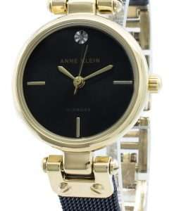 Anne Klein 3003GPBL Diamond Accents Quartz Women's Watch