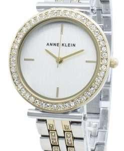 Anne Klein AK-3409SVTT Diamond Accents Quartz Women's Watch