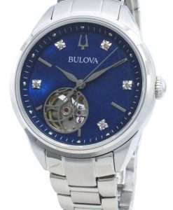 Bulova Classics 96P191 Diamond Accents Automatic Women's Watch