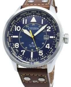 Citizen Promaster Nighthawk BX1010-11L World Time Eco-Drive 200M Men's Watch