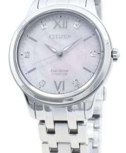 Citizen Eco-Drive EM0720-85Y Diamond Accents Women's Watch