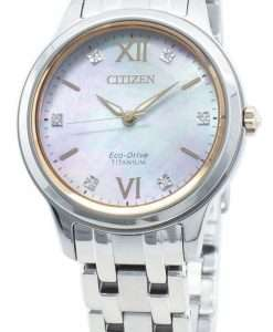 Citizen Eco-Drive EM0726-89Y Diamond Accents Women's Watch