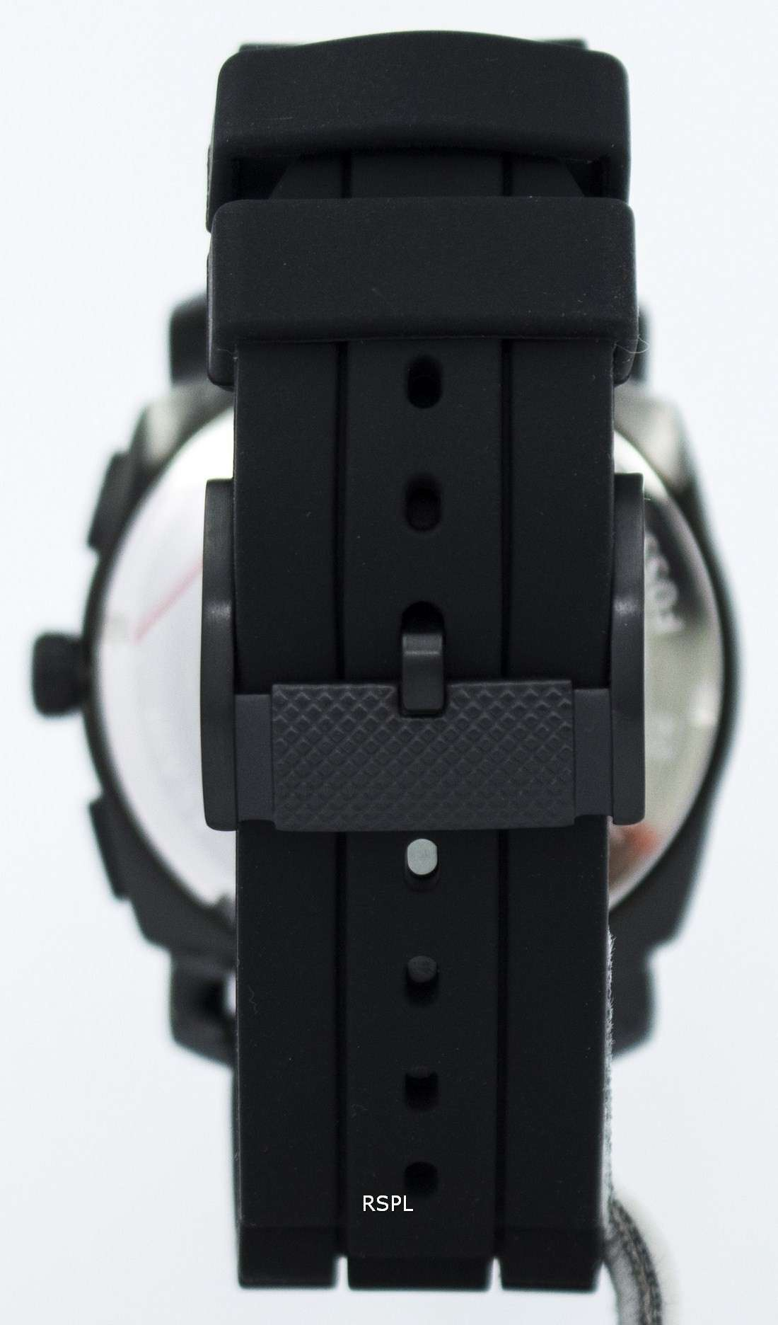 Men's Chronograph Machine Black Silicone Strap Watch 45mm FS4487
