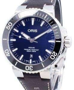 Oris Aquis Date 01 733 7730 4135-07 5 24 10EB 01-733-7730-4135-07-5-24-10EB Automatic 300M Men's Watch