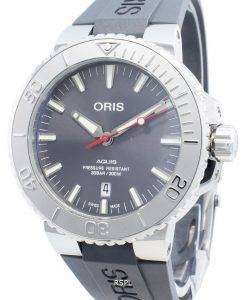 Oris Aquis Date 01 733 7730 4153-07 4 24 63EB 01-733-7730-4153-07-4-24-63EB Automatic 300M Men's Watch