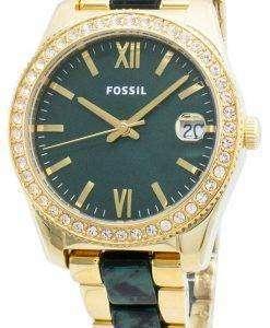 Fossil Scarlette Mini ES4676 Diamond Accents Quartz Women's Watch