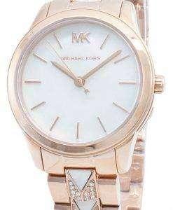 Michael Kors Runway MK6674 Diamond Accents Quartz Women's Watch
