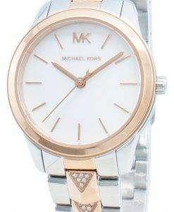 Michael Kors Runway Mercer MK6717 Diamond Accents Quartz Women's Watch